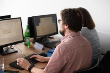 Schulungsteilnehmer Adobe Schulung