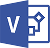 Microsoft Visio 2019/2016/2013/2010 - Grundlagen Logo