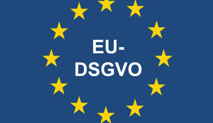Die neue EU-Datenschutz-Grundverordnung (EU-DSGVO) 2018 Logo