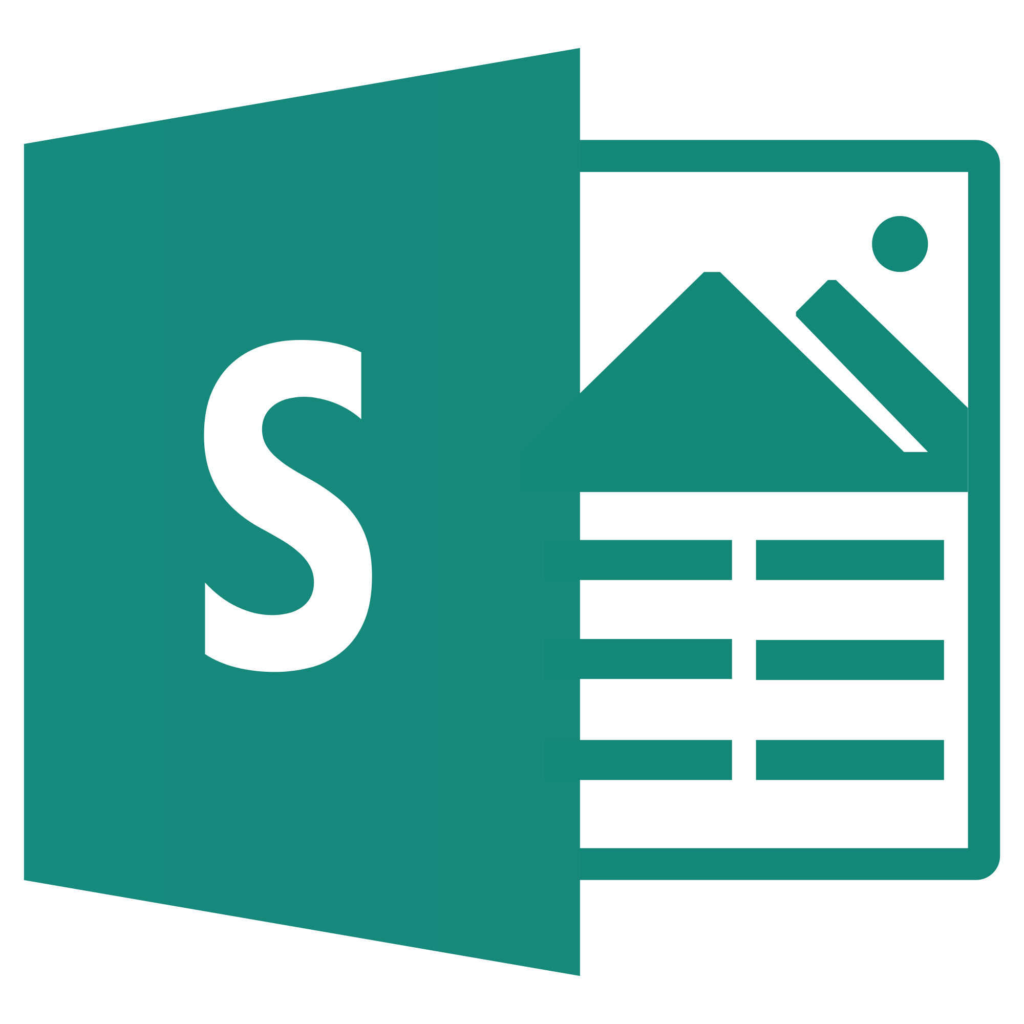 Office 365: Sway - Bildschirmpräsentation Logo