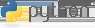 Python als Skriptsprache Logo