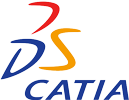 CATIA V5 - Flächen-/Freiformflächenkonstruktion Logo
