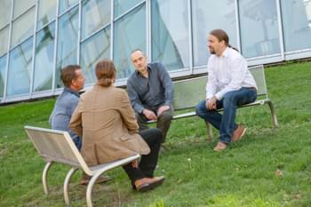 Diskussionskreis für online KI Anfänger Fortbildung