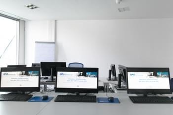 Teilnehmergruppe für offene LaTeX Manager Schulung