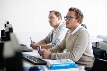 Teilnehmerrunde für online Ubuntu Fortgeschrittene Fortbildung